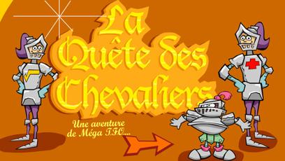 Site web - La quête des chevaliers