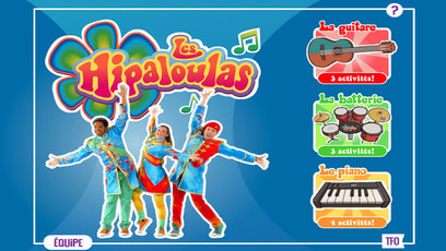 Jeu - Les Hipaloulas