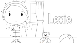 Coloriage - Lexie