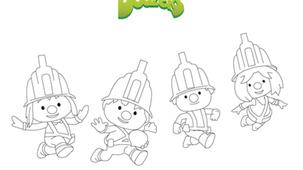 Coloriage - Doozers 4