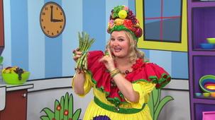 Vidéo - Madame Fruitée Dances: Asparagus