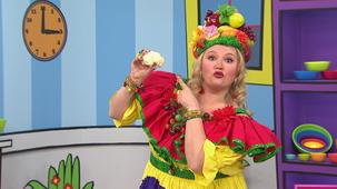 Vidéo - Madame Fruitée Dances: Cauliflower