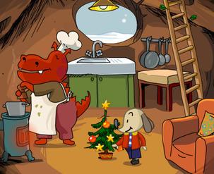 Site web - Polo et l'arbre de Noël