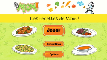 Jeu - Miam! L'application