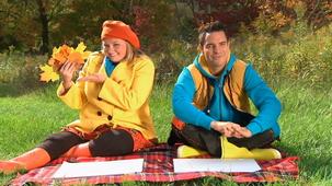 Vidéo - J'adore l'automne : Calque par frottement