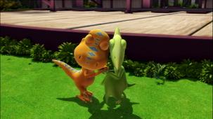 Vidéo - La grande cité des dinosaures - 4e partie