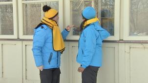 Vidéo - À la découverte de l'hiver: la buée