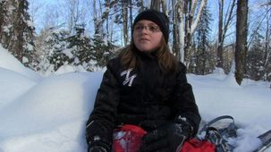 Vidéo - Sharly - Snowshoeing