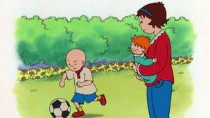 Vidéo - Caillou joue au ballon