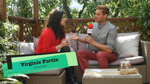 Vidéo - A Flash Interview with Virginie Fortin (and PO Beaudoin)