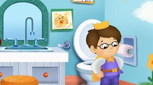Vidéo - Prince Wednesday Goes to the Potty