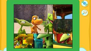 Lancer le jeu Casse-tête - Dino train dans une modale