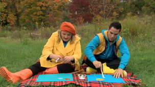 Vidéo - J'adore l'automne : Le collage d'automne