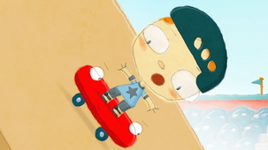 Vidéo - The Day Henry Met a Skateboard