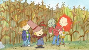 Vidéo - Scarecrows and Pumpkins / Dinosaur Time