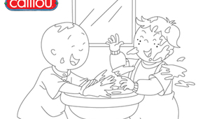 Coloring - Caillou 8