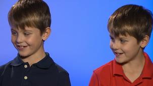 Vidéo - Gaston et les enfants : Animaux sauvages - jumeaux