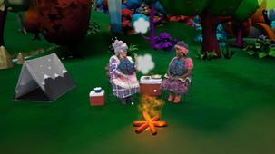 Vidéo - Les soeurs Gâteau en camping