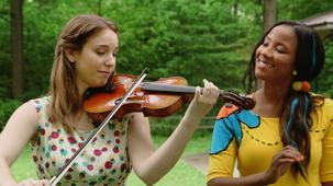 Vidéo - Ariane la violoniste : Vibration des notes