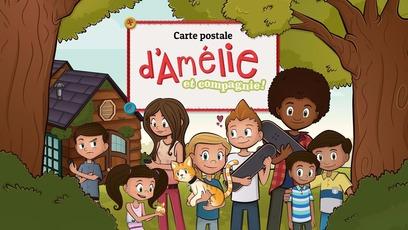 Jeu - Carte Postale d'Amélie