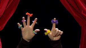 Vidéo - Le mini théâtre de mains - Violette