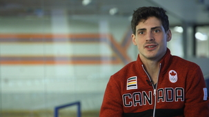 Vidéo - A Franco-Ontarian Ice Dancer at the Peak of His Career