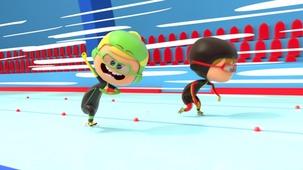 Vidéo - Le patinage de vitesse