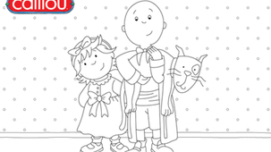 Coloring - Caillou 3