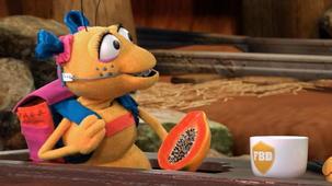 Vidéo - Mission : fruits et légumes - La papaye de haut en bas