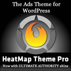 HeatMap Theme Pro v5 - The WordPress Adsense Theme