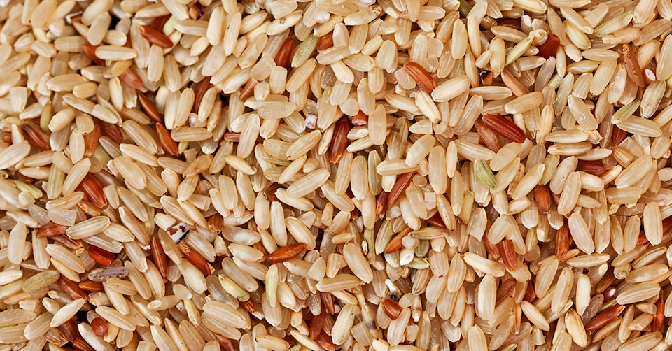 Treating brown rice like white rice