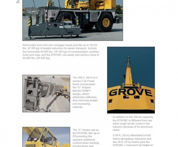 2003 Grove RT9130E 14