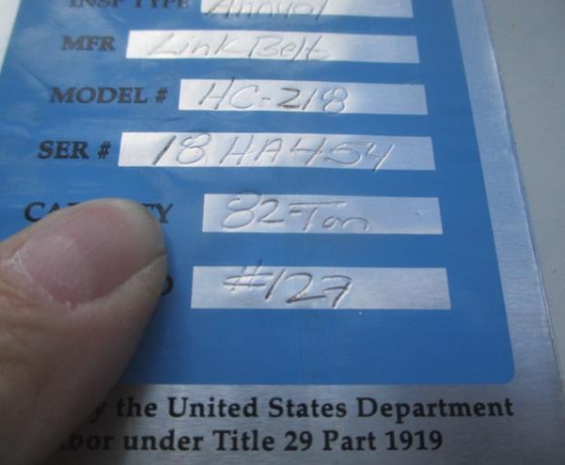 1973 Link Belt HC 218 82 ton 27