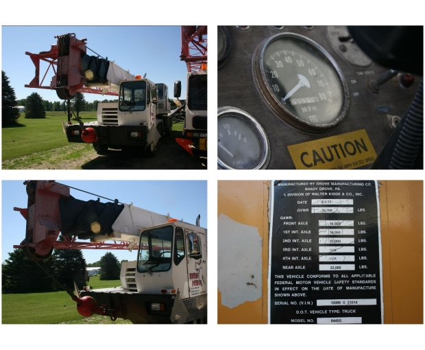 1974 Grove TMS300LP(see specs attached) 2