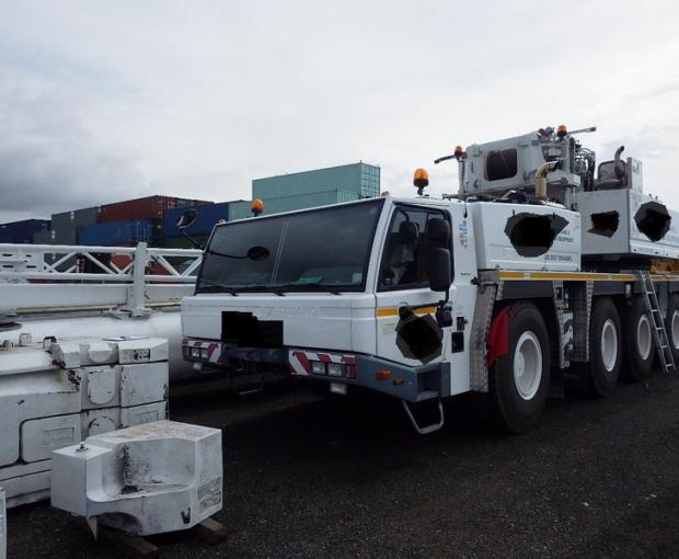 2016 Tadano ATF130G-5 All Terrain Hydraulic Crane