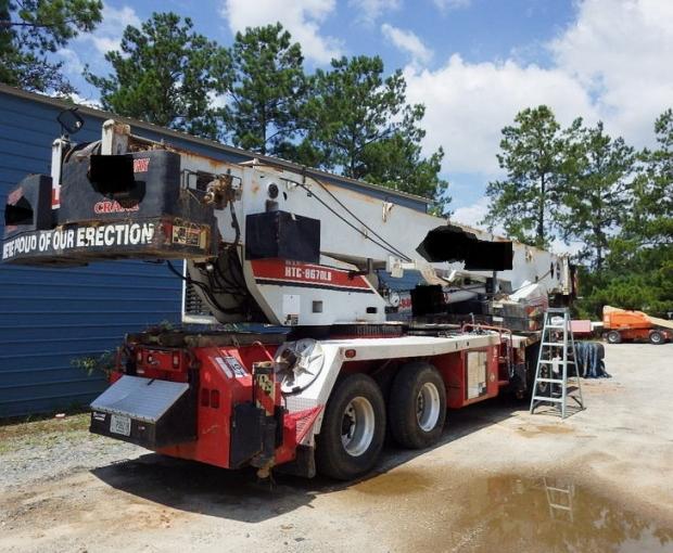 2004 Link-Belt HTC8670LB Hydraulic Truck Crane 30
