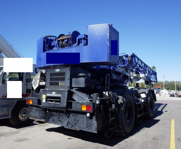 2015 Tadano GR1000XL-3 Rough Terrain Crane 4