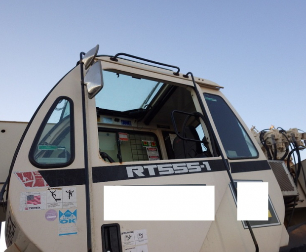 2011 Terex RT555 Rough Terrain Hydraulic Crane 14
