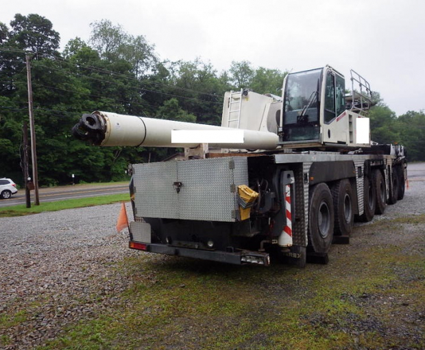 2008 Demag AC250-1 All Terrain Hydraulic Crane 3