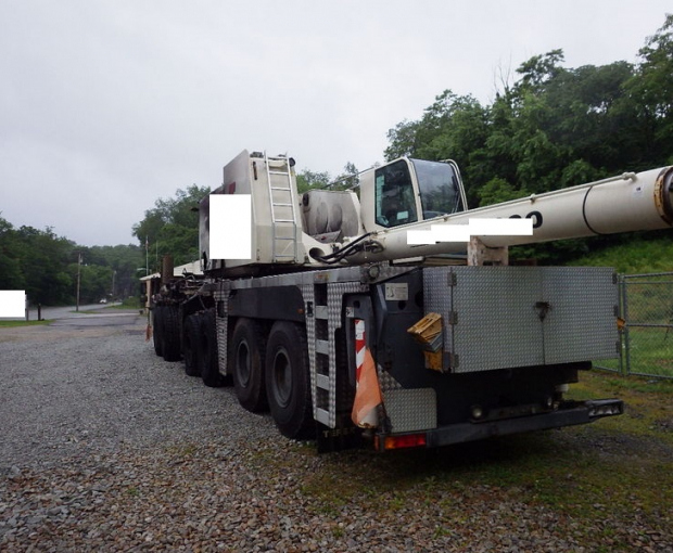 2008 Demag AC250-1 All Terrain Hydraulic Crane 4