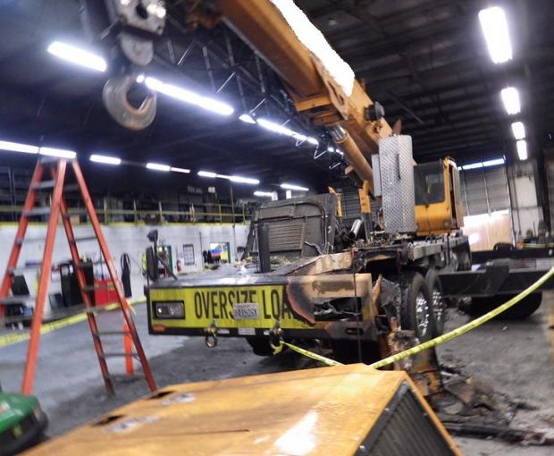 2008 Link-Belt HTT8690 Hydraulic Truck Crane 9