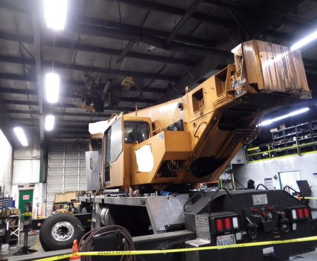 2008 Link-Belt HTT8690 Hydraulic Truck Crane 4