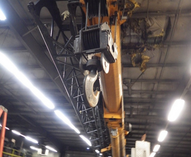 2008 Link-Belt HTT8690 Hydraulic Truck Crane 7