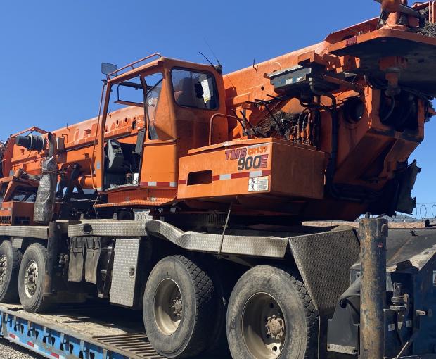 2007 Grove TMS900E Truck Crane