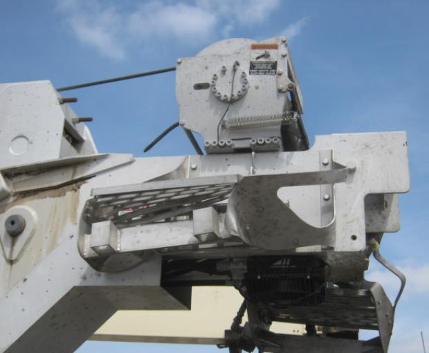 Manitex TC50155H Crane Mounted On 2018 Peterbilt 567 18