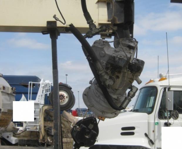 Manitex TC50155H Crane Mounted On 2018 Peterbilt 567 19