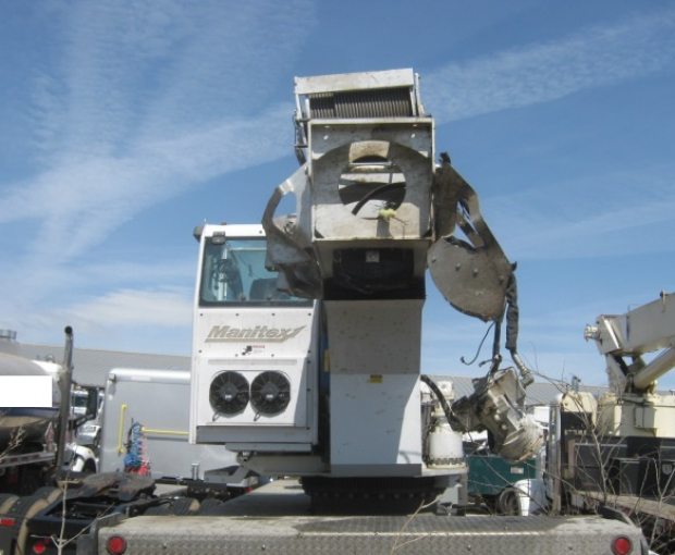 Manitex TC50155H Crane Mounted On 2018 Peterbilt 567 28