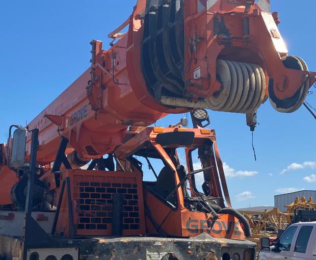 2007 Grove TMS900E Truck Crane 3