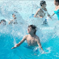Battle the waves at WildWaves Wave Pool!