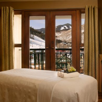 Resorts find new way to pamper skiers, steps from the slopes